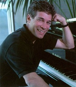Don Grady sits at a piano in this 2002 magazine photo.