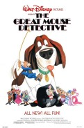 The Great Mouse Detective (1986) movie poster