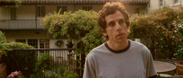 "Ben Stiller plays Roger Greenberg, the opinionated, dependent Hollywood-house-sitting protagonist of Noah Baumbach's ""Greenberg."""