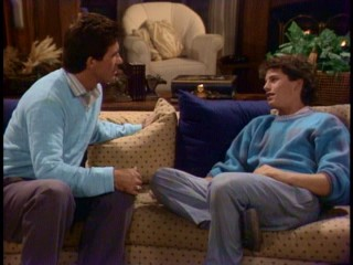 Following his first cocaine party, Mike Seaver (Kirk Cameron) wishes to talk to Jason not as father and son, but as one friend to another.