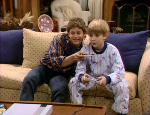 Mike (Kirk Cameron) and Ben Seaver (Jeremy Miller) got each other, sharing the laughter and love of a competitive Nintendo baseball game.