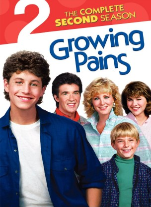 Growing Pains: The Complete Second Season DVD cover art -- click to buy DVD from Amazon.com