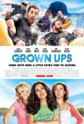 Grown Ups (2010) movie poster