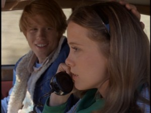 "In ""Grand Theft Auto"", Ron Howard and Nancy Morgan illustrate how driving while on the phone was a laughing matter back in 1977. Those were simpler times. We know better today."