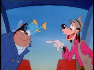 Goofy and Pete aren't as friendly, but they get by.