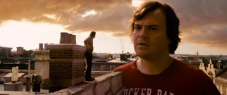 Gulliver (Jack Black) finds a tiny but trustworthy friend in Horatio (Jason Segel).