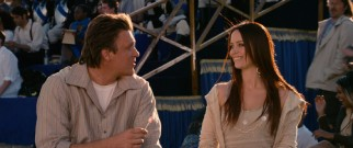 Horatio's (Jason Segel) forbidden courtship of Princess Mary (Emily Blunt) employs Gulliver's questionable expertise.