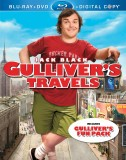 Gulliver's Travels Blu-ray + DVD + Digital Copy combo pack cover art -- click to buy from Amazon.com