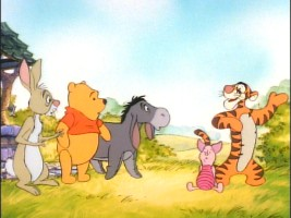 "Tigger lets everyone know about his many birthday wishes in ""All's Well That Ends Wishing Well."""