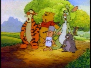 Pooh and company are shocked at the DVD treatment bestowed upon their show.