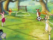 "The oh-so-exhilarating ""Soccer Playtime with Pooh"" game"