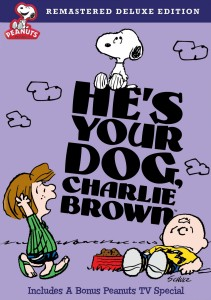 He's Your Dog, Charlie Brown: Remastered Deluxe Edition DVD cover art - click to buy DVD from Amazon.com