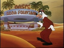 "Goofy says, ""Maybe, Oasis is gonna be the one that saves me."" (From Egyptian thirst, that is, gawrsh.)"