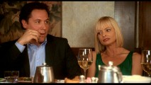 "If you yearned for more acrid banter between Barry (Jon Favreau) and Denise (Jaime Pressly), you're in luck with their stretch of the ""Extras"" section."