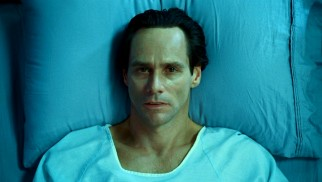 Steven (Jim Carrey) narrates most of the film from his hospital deathbed.