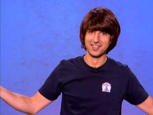 "2009 finds stand-up comedian Demetri Martin graduating from TV specials and CDs to an Ang Lee film and his own Comedy Central series, ""Important Things with Demetri Martin."""