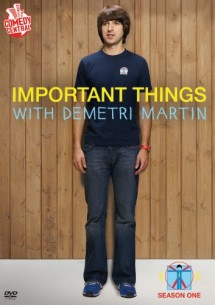 Buy Important Things with Demetri Martin: Season One DVD from Amazon.com
