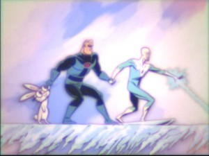 "A scene from the lost cartoon ""Mr. Incredible and Pals."""