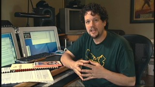 "Composer Michael Giacchino talks about his score intentions in the ""Music"" short."