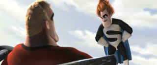 Syndrome enters the patheon of great animated villains.
