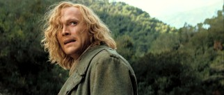 Although Dustfinger (Paul Bettany) has the ability to start fire with his bare hands, he'd much rather return home to his book.