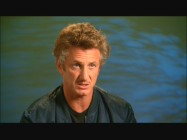 Director Sean Penn tilts his head and furrows his brow while discussing the film in one of the two featurettes.