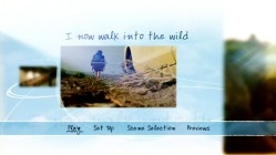 "The phrase from which the title ""Into the Wild"" springs is seen in the main menu montage so nice Paramount used it twice."