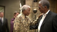 """Mandela Meets Morgan"" brings leader and actor together briefly."