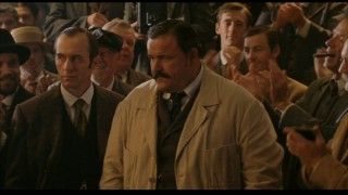 Harry Vardon (Stephen Dillane) and Ted Ray (Stephen Marcus) represent England's best shot at the U.S. Open crown.