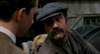 Elias Koteas plays Francis's disapproving, hard-working father Arthur.