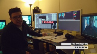 First assistant editor P.J. Burch takes us through one of a film's final stages.