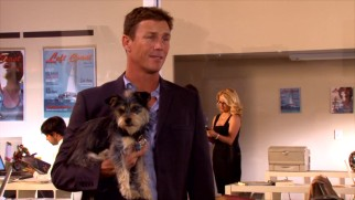 Any day can be Take Your Dog to Work Day for Left Coast Magazine features editor Eric Miller (Brian Krause).
