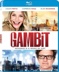 Gambit (2014) Blu-ray Disc cover art -- click to buy from Amazon.com