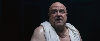 Last resort loan shark Frank (John Goodman) looks like he comes straight from Ancient Rome.