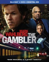The Gambler: Blu-ray + DVD + Digital HD combo pack cover art - click to buy from Amazon.com