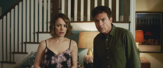 "The R-rated comedy ""Game Night"" stars Rachel McAdams and Jason Bateman as a married couple who gets involved in real danger they mistake for an interactive murder mystery."