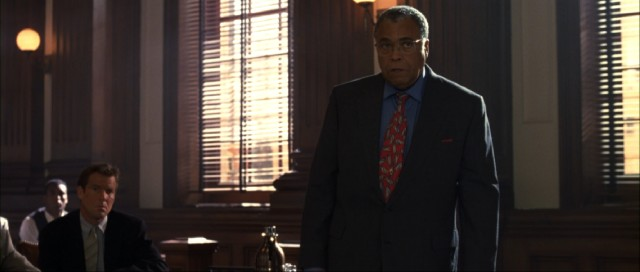 Things change (that's the way it is) when Arthur Baylor (James Earl Jones) begins defending wrongfully accused family friend William McCall (Dennis Quaid).