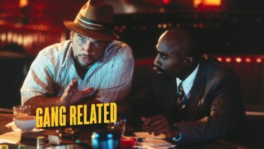 The Gang Related Blu-ray menu is straight up gangsta.