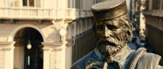 This Janiculum Hill statue of Giuseppe Garibaldi is one of several personified with voiceover.