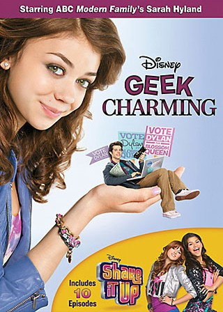 Geek Charming (with Shake It Up) DVD cover art -- click to buy from Amazon.com