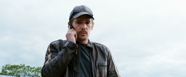 "In ""Getaway"", Brent Magna (Ethan Hawke) gets a phone call commanding him on the only way he'll get to see his abducted wife alive again."