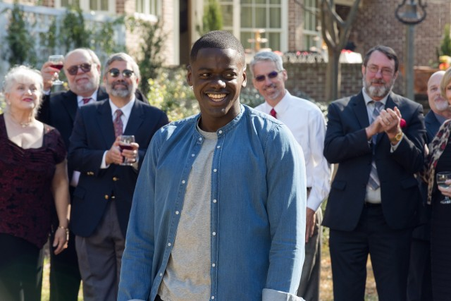 "In ""Get Out"", Chris Washington (Daniel Kaluuya) encounters some strange things on a trip to his girlfriend's family's rural hometown."