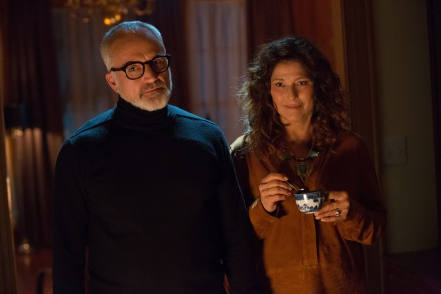 "Rose's parents (Bradley Whitford and Catherine Keener) are not as open-minded as we're led to believe in ""Get Out."""