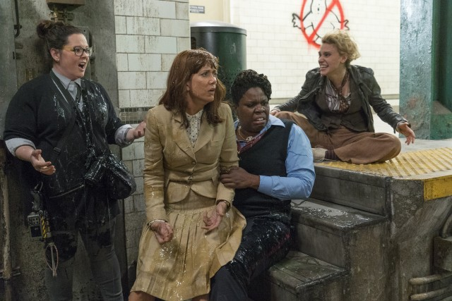 "One of my favorite movies of all time yielded one of 2016's weakest comedies in 2016's ""Ghostbusters"" starring Melissa McCarthy, Kristen Wiig, Leslie Jones, and Kate McKinnon."