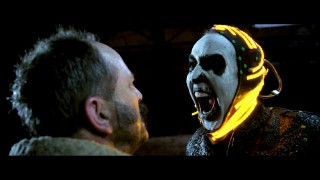"The sight of a skeletally made-up Nicolas Cage in this deleted scene whets one's appetite for a complete pre-CGI version of ""Ghost Rider 2."""
