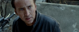 "Nicolas Cage playing Johnny Blaze is the one main feature that renders this ""Ghost Rider"" a sequel."