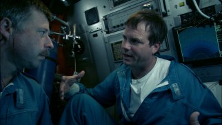 """Observer"" Bill Paxton voices a number of questions and concerns as he rides a submersible down to the ocean floor."