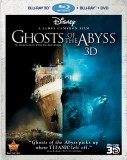 Ghosts of the Abyss Blu-ray 3D + Blu-ray + DVD cover art -- click to buy from Amazon.com