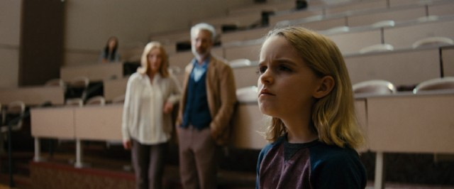 "Mary (Mckenna Grace) wows everyone with her ability to solve advanced mathematics problems in ""Gifted."""