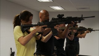 "The cast of ""G.I. Joe: Retaliation"" undergoes weapons training in a ""Declassified"" making-of segment."